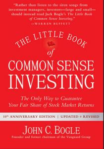 john bogle little book of common sense investing